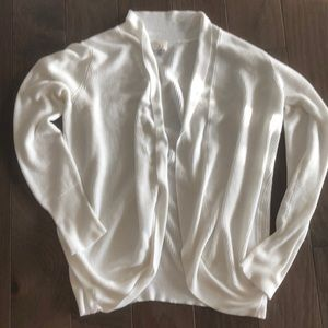A New Day (Target) white long open cardigan XL
